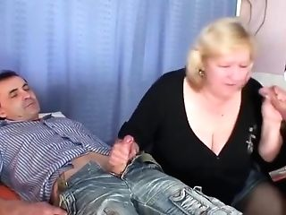 Granny Takes Two Meatpipes At Once