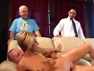 Brief Haired Blonde Wifey With Lil' Titties Loves Hard-core Anal Invasion Activity