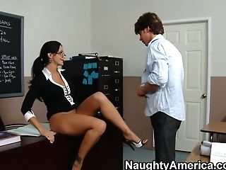 Ava Addams & Seth Gamble In My Very First Fuck-fest Lecturer