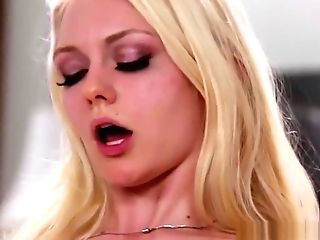 Huge-chested Stepmom Queened By Lovely Nubile