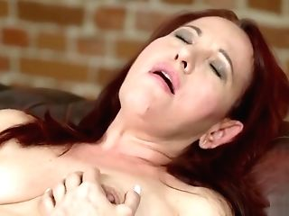 Matures Sandy-haired Railing A Fresh Hard Shaft