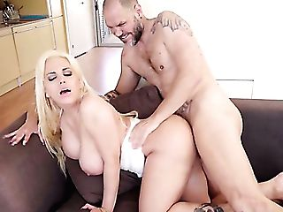Big Jugged Latina Adult Movie Star Blondie Fesser Is Made For Titfuck