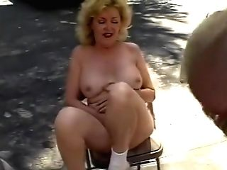 Kitty Foxx And Friends Fucking Outdoors