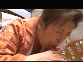Japanese Mom H Gets Her Hairy Snatch Tongued And Fucked Hard