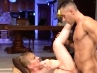"""21sextreme Horny Granny Gets Pounded During Work Break"""