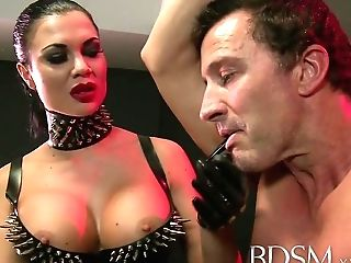 Domination & Submission Xxx Fuck Toy Boy Gets Ass-fuck Attention From Mistress