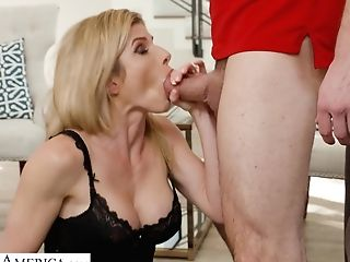 Railing Meatpipe Is Joy But Some Perverted Rear End Brings More Delight For Cory Chase