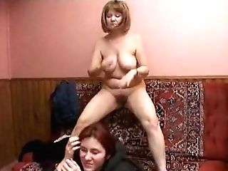 Russian Mom And Teenager
