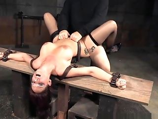 Sub Mummy Deepthroating And Fucking In Bondage & Discipline
