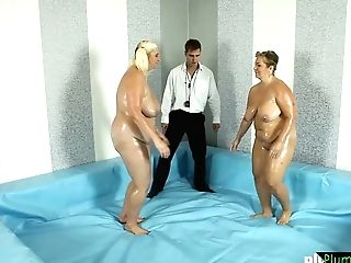 Bbw Matures Plowed By Grappling Referee