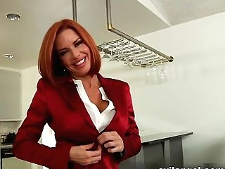 Crazy Sex Industry Stars Veronica Avluv, Mark Wood In Horny Hd, Ginger-haired Hookup Clip