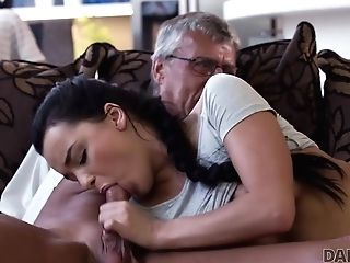 Daddy4k. Hard-on Of Matures Dad Pleases Lady's Need In Good Dicking