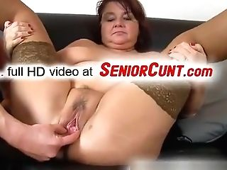Fat Lady Eva Elderly Vagina Fingerblasted And Toyed Point Of View Zoom