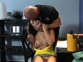 A Hard-core Fuck-a-thon Might End Up With Some Extraordinaire Squirting For This Smoking Hot Brown-haired