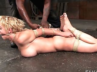 Big Black Cock Penalize Vagina Of Big-chested Matures Whore Dee Williams