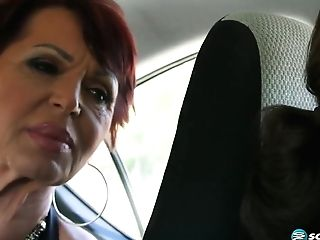 Gina Milano - Hot Italian 60-year-olds First-ever Flick